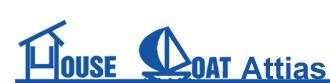 House and Boat Attias Agenzia Immobiliare di Livorno Logo